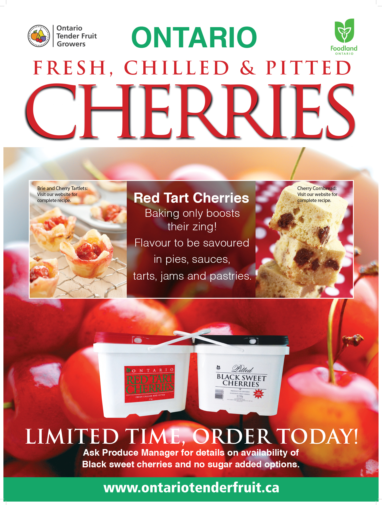 Tart Cherries Poster 2015