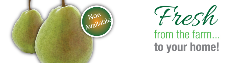 ONtario Pears are Now Available