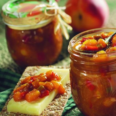 Ontario Peach Pepper Chutney